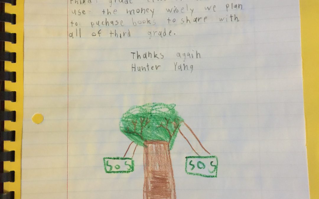 Honest Air Inc. Sponsors a Third Grade Class