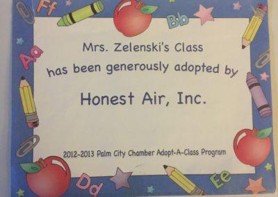Palm City Adopt A Class 2012-2013