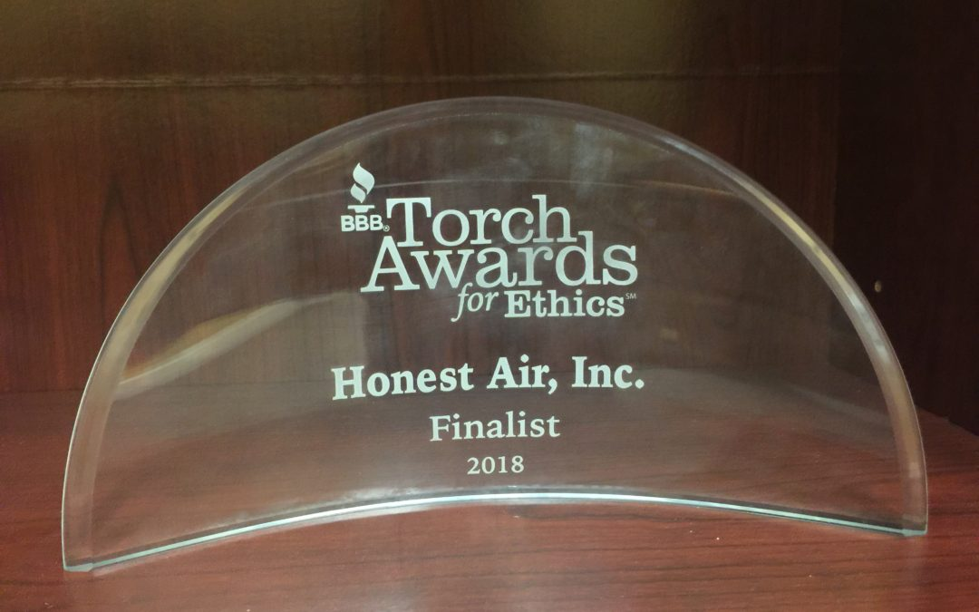 HONEST AIR INC. BRINGS HOME THE CRYSTAL!